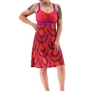 PRANA Breathe Empire Waist Sleeveless Dress #HH03